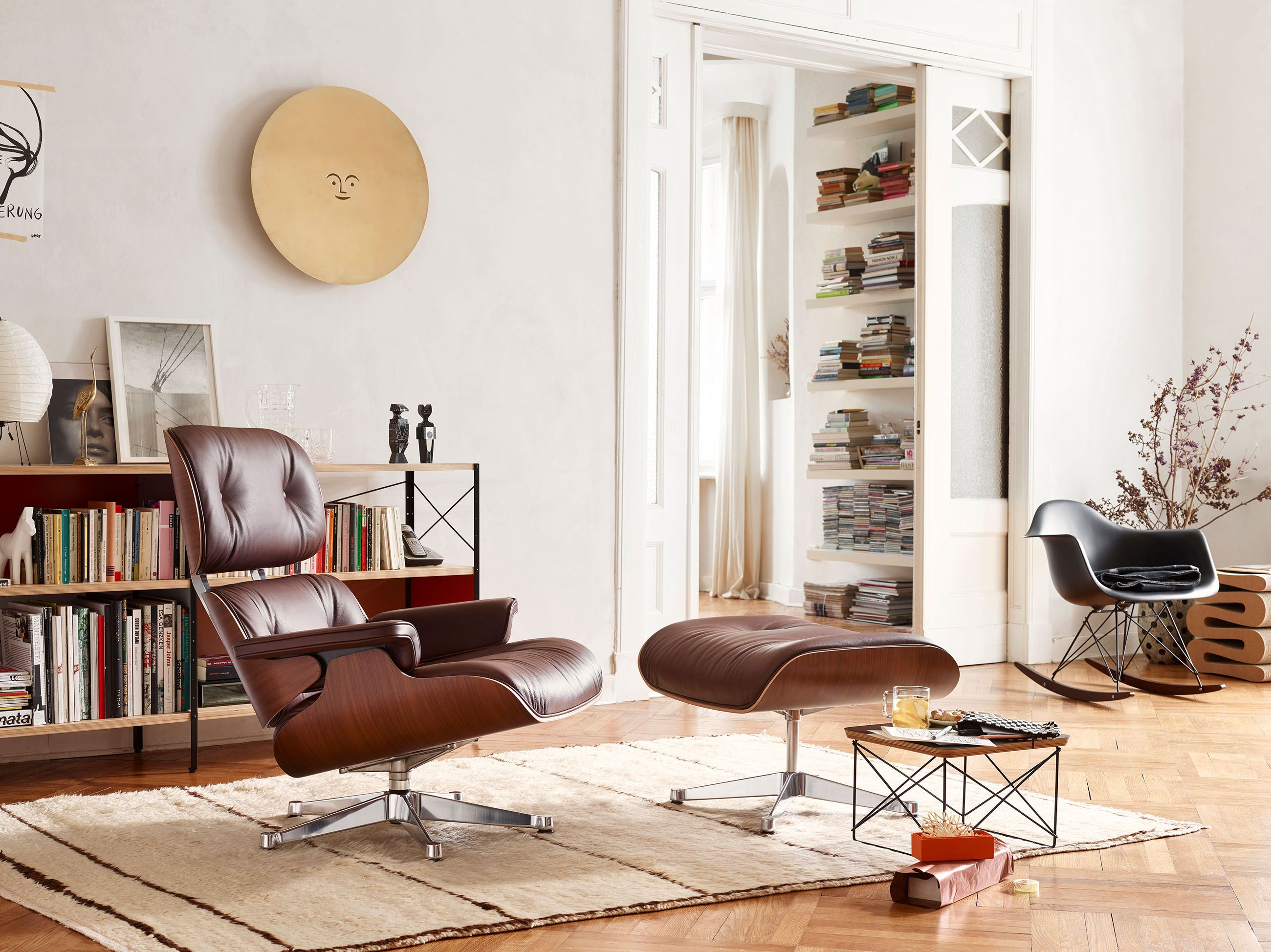 Lounge Chair & Ottomann von Vitra