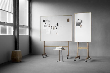 Wood mobile Whiteboard von Lintex