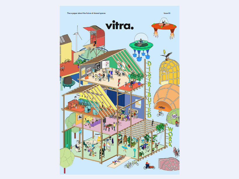 Cover des Vitra E-Papers zu Distributed Work